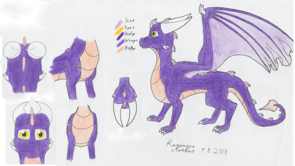 Amethyst reference sheet traditional