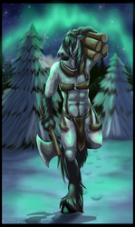 Northern Lights Finished YCH