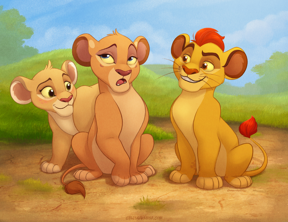 Kion and the Girls