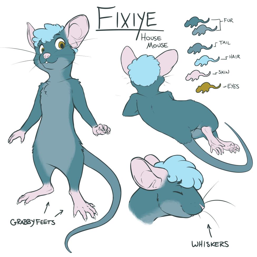 Fixiye - Character Sheet
