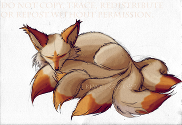 6-tailed fox kit