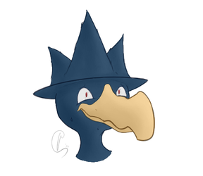 [Commission] Murkrow Icon 4