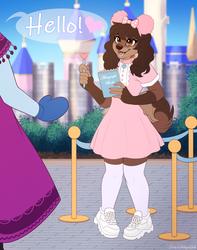 Meeting Princesses - Commission