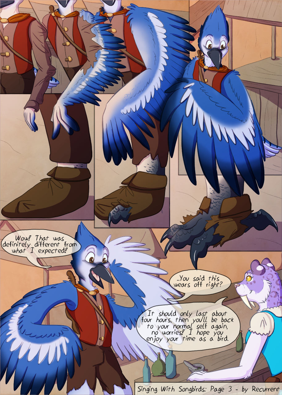 [P/YCH] Singing With Songbirds - Page 3/4