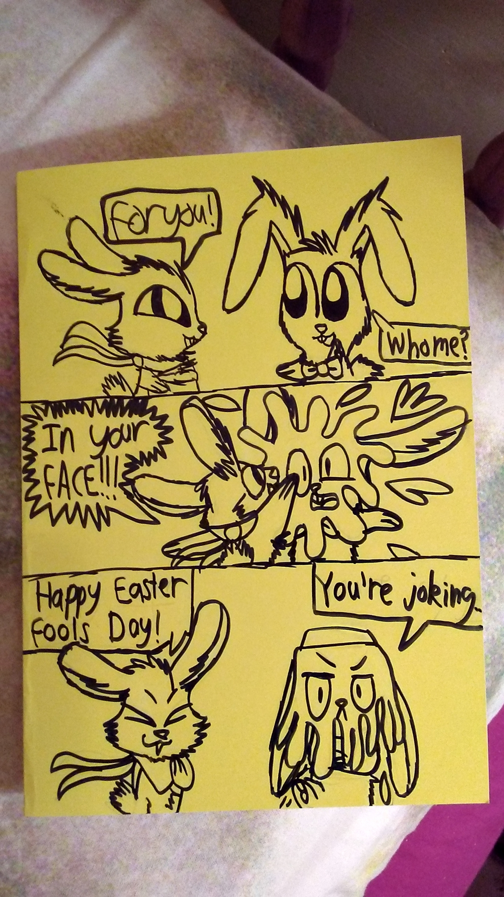 Easter Fools! [Old Comic]