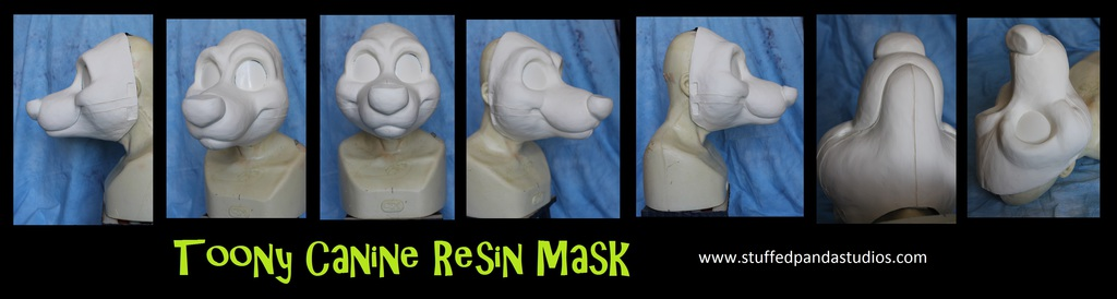 Toony Canine Resin Mask