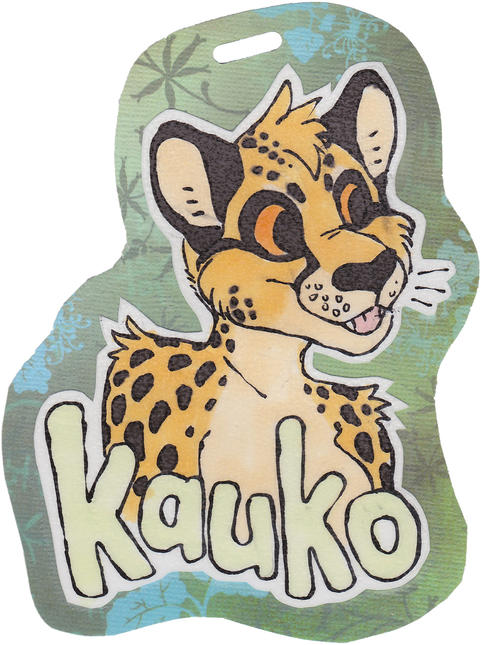 Kauko badge by Tooie