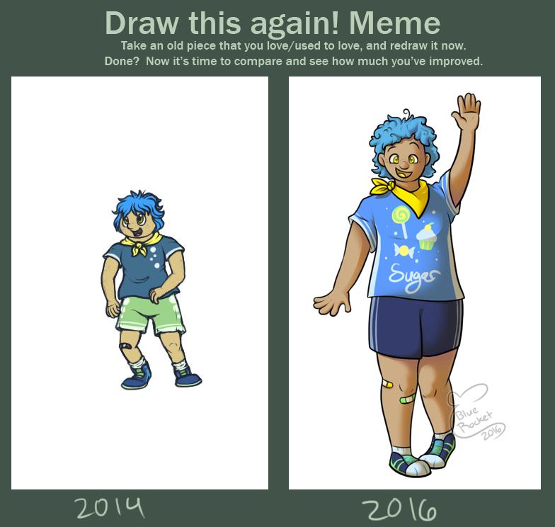 Draw This Again: Humanized Fun Dip