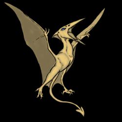 Pteradactyl the original dinobird