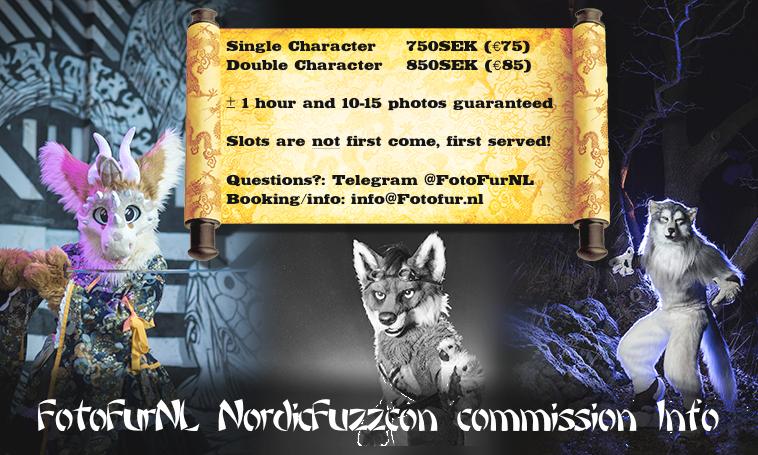 Commission Info NordicFuzzCon