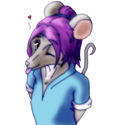 Sara Kalante is a cheeky woodrat by Wilren
