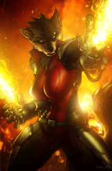 Molten Fire - By Strype