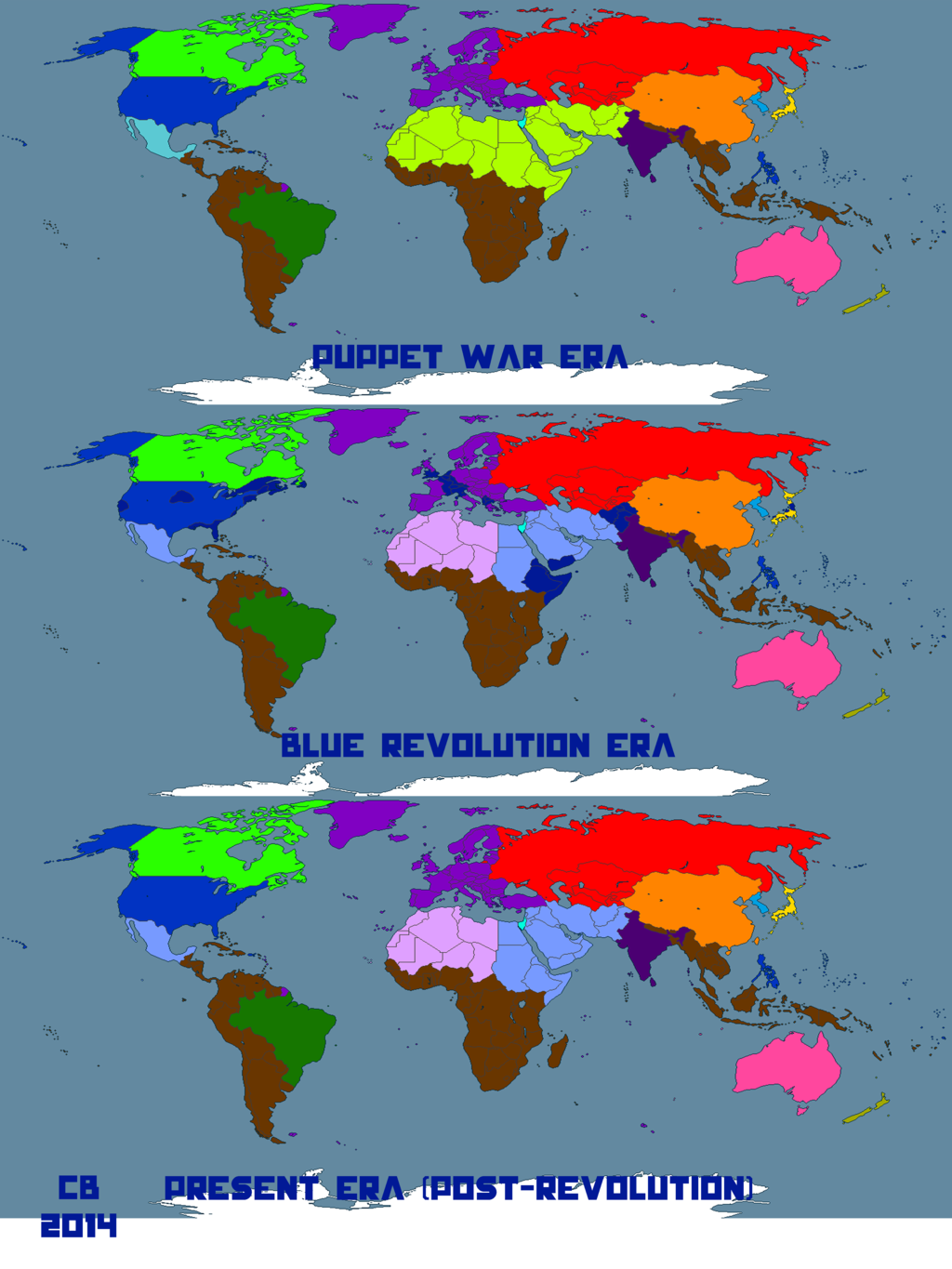 Worldbuilding Map: Pre-, Peri-, and Post-Revolution