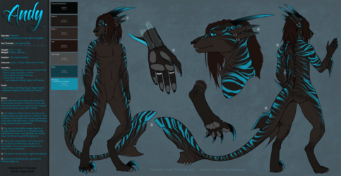 Andy Reference Sheet
