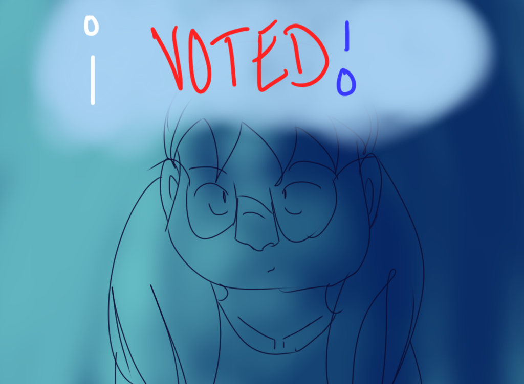 Most recent image: i VOTED!