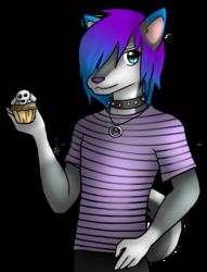 Shugo and the Bluberry Pupcake
