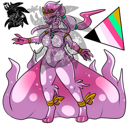 Shiny female Alolan Ninetails +Design+ (SOLD)