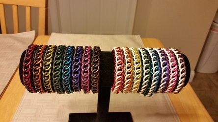Bracelet Rainbow: Half Persian 3in1 Edition!