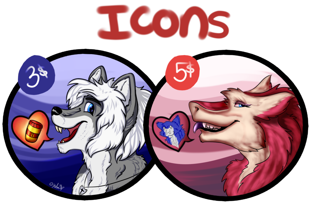 Most recent image: 3-5$ Icon Commissions