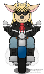 Sable and her Motorcycle (2014)