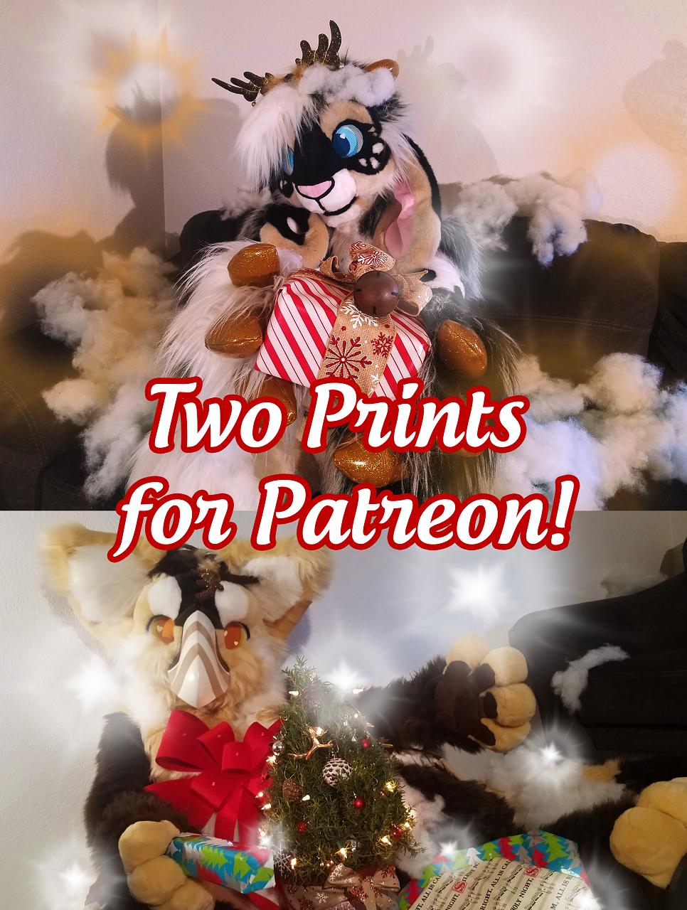 December Patreon Rewards x2 Prints!