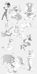 Commission sketch dump