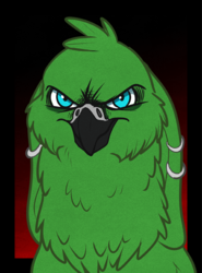 draw a bird.  or else.