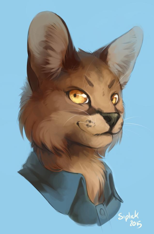 Fluffcat bust