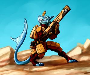 Tau are Space Fish
