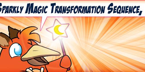 Super Sparkly Magic Transformation