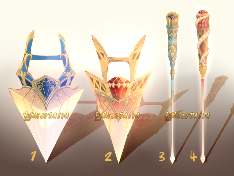 Auction : Weapon Adopt Set 32 [OPEN]