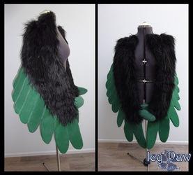 Custom arm wings