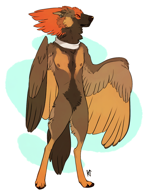 Redfeather - A Paypal Adopt - SOLD