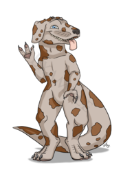 Artistic Freedom Design: Spotted Great Drex (Male)