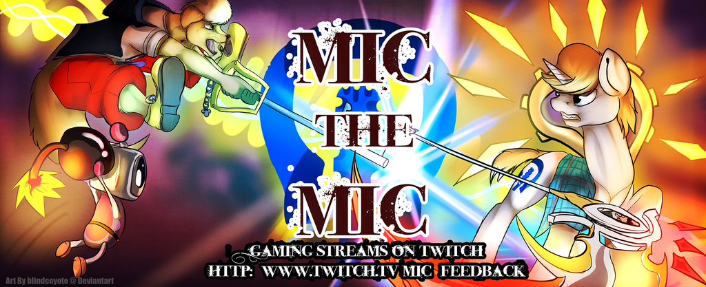Mic The Mic Gaming Streams Banner
