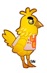 chica crossing