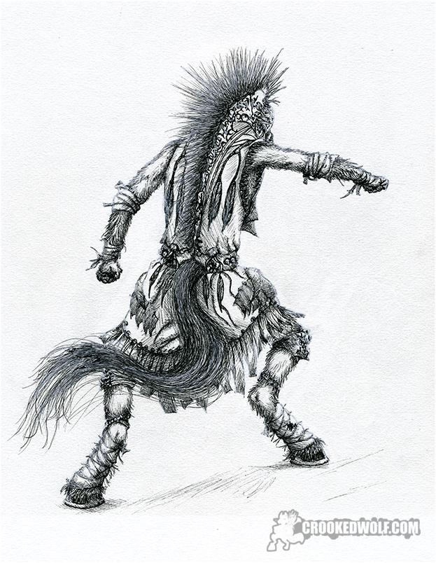 Inktober 2017 Warrior