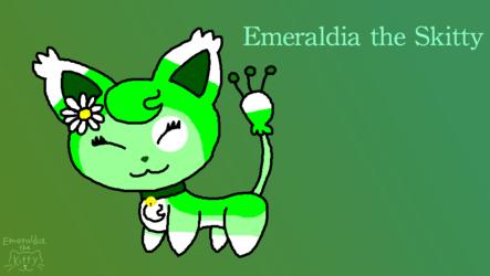 Emeraldia the Skitty (Remake)