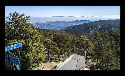 31-5-2020 Troodos view point drone shot