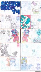 Sketchbook 74 - Part 1