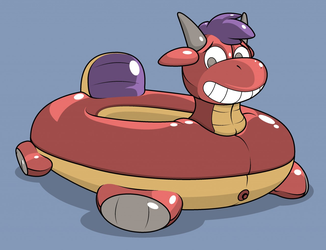 Toast Pooltoy by Gridbull