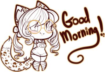 Good morning! [Hunny]