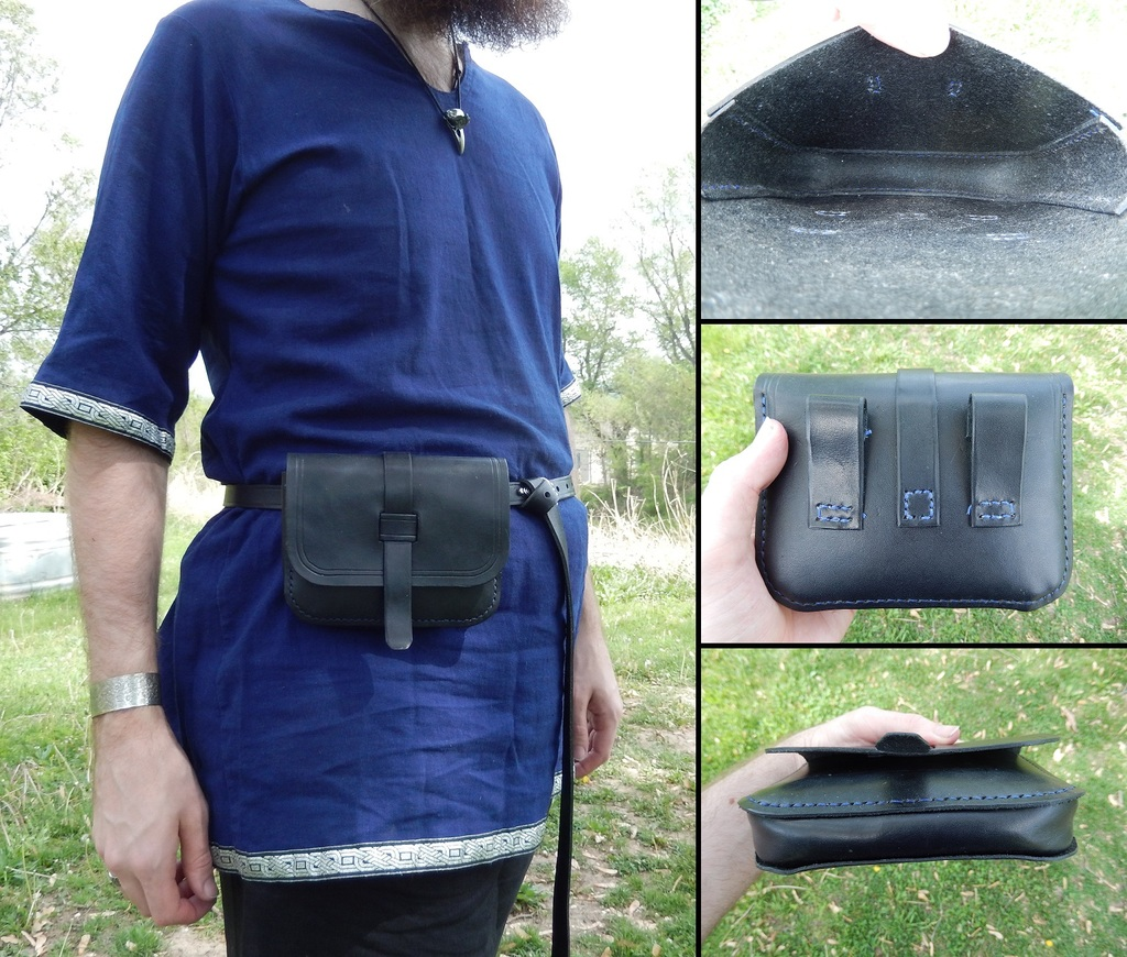 Leather Projects - Pouch