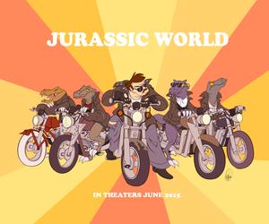 Retro Raptor Squad