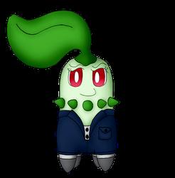 Pepper Mintz the Chikorita