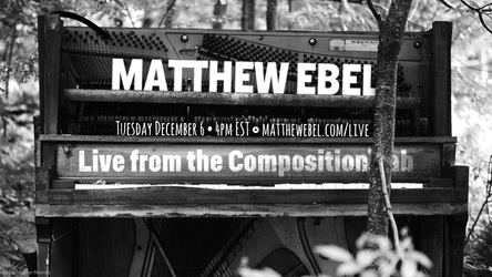 Live from the Composition Lab - December 6, 2016