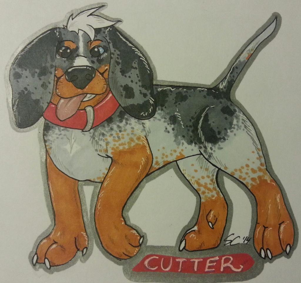 Devil Dog Cutter .:ConbadgeXchange:.