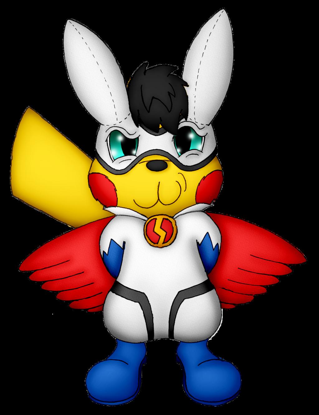 "Ace Spade's ""Super Pikachu"" Costume (Commission)"