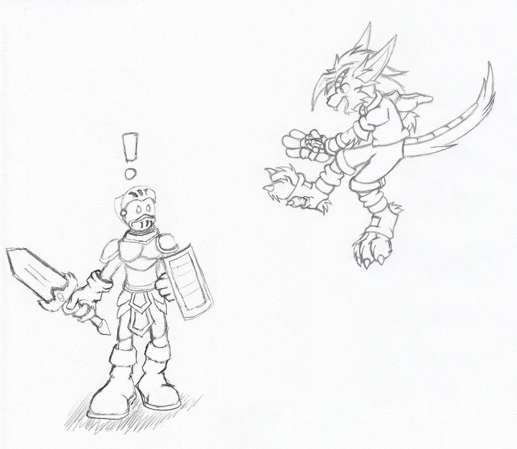 Sketch - Zech Attack
