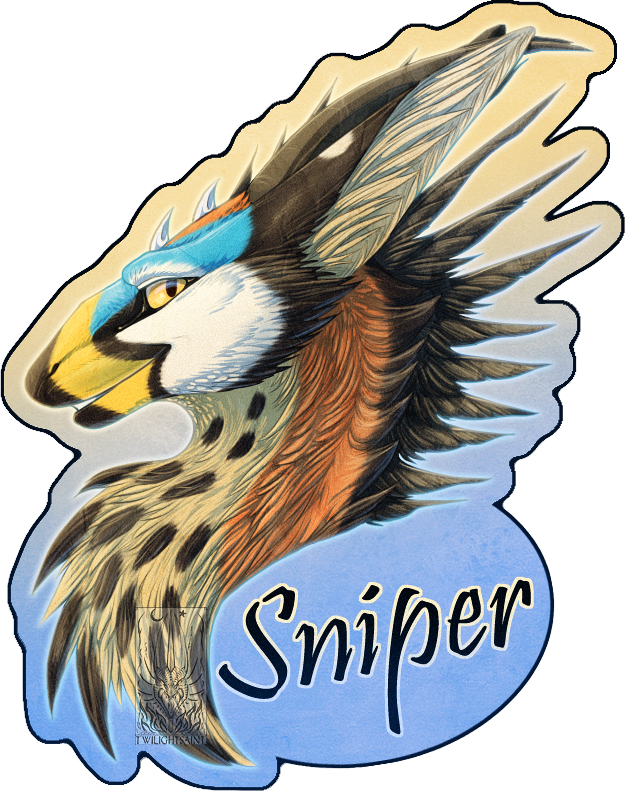 Personal - Sniper's Feral Badge